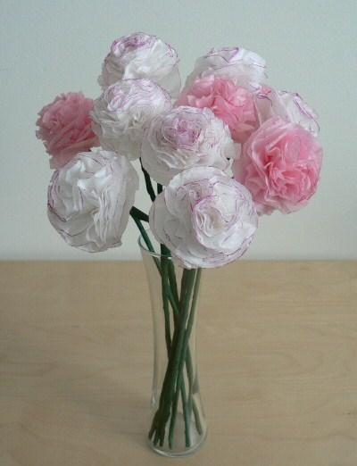 Tissue carnations